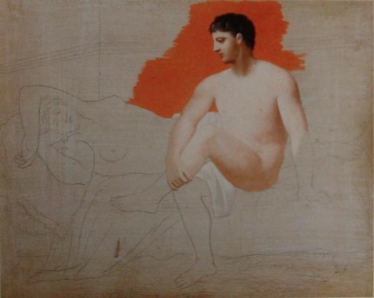 Picasso desenho de colecção particular