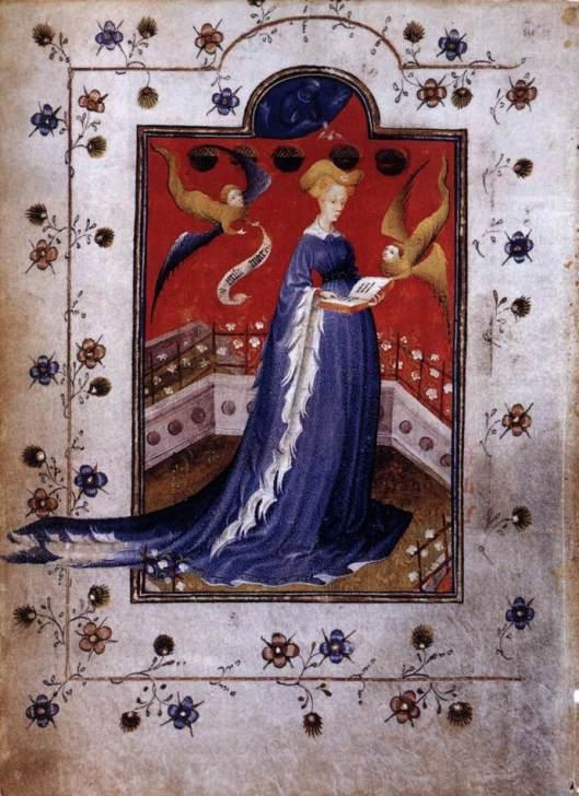 Book of Hours of Marie of Guelders Annunciation 1415