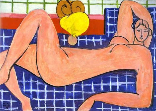 Matisse - O nu rosa 1935
