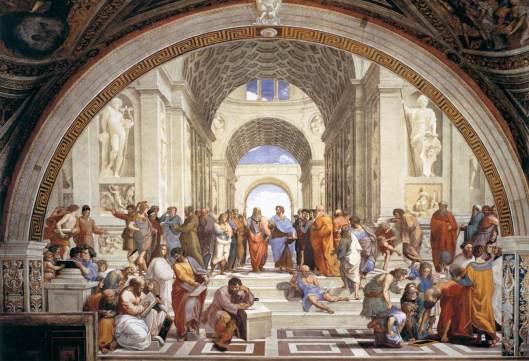 Rafael - Fresco A escola de Atenas 0