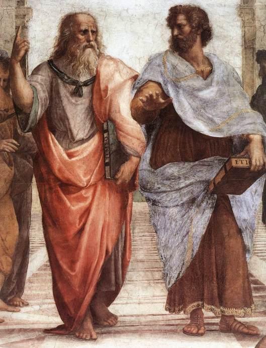 Rafael - Fresco A escola de Atenas 1
