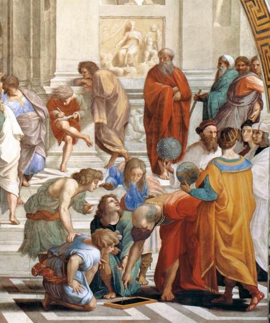 Rafael - Fresco A escola de Atenas 2