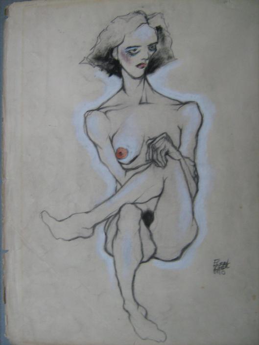 Schiele_Egon-Nude 1910