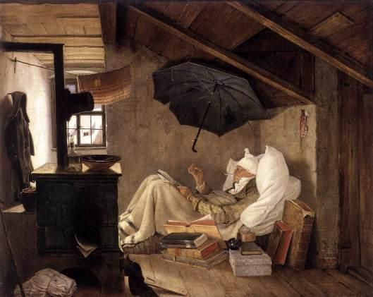 SPITZWEG, Carl - O poeta pobre 1839