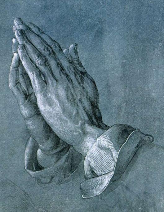 Dürer - Estudo de mãos 02A