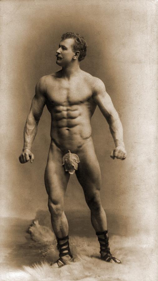 eugen-sandow-1867-1925 with fig leaf 1