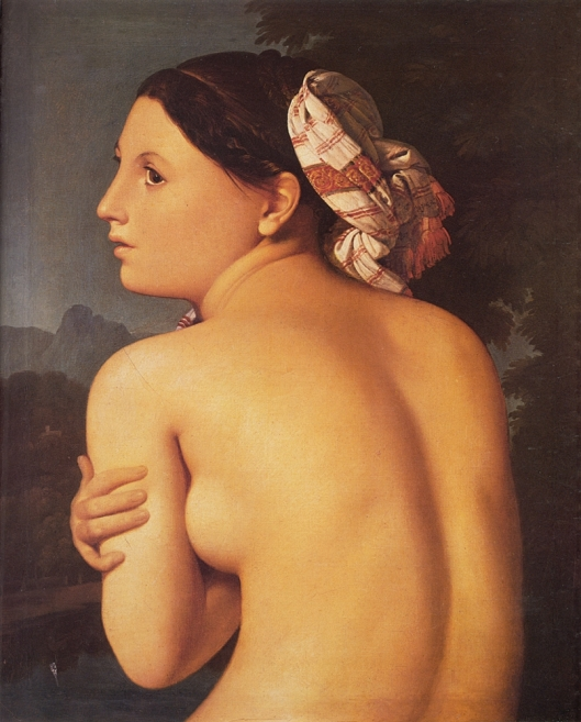 Ingres_Jean-Auguste-Dominique-Half-figure_of_a_Bather