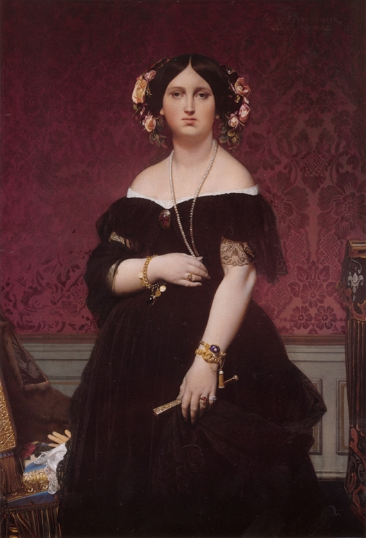 Ingres_Jean-Auguste-Dominique-Portrait_of_Madame_Moitessier_Standing