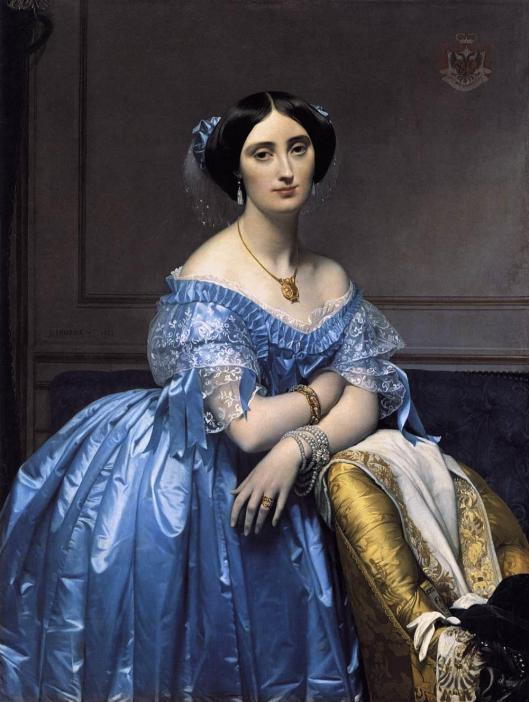 Ingres_Jean-Auguste-Dominique-Princess_de_Broglie