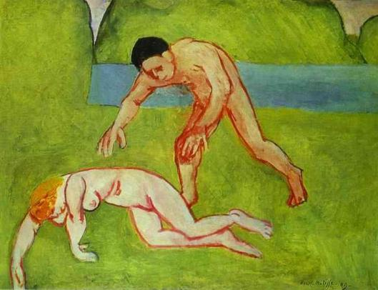 Matisse_Henri-Satyr_and_Nymph