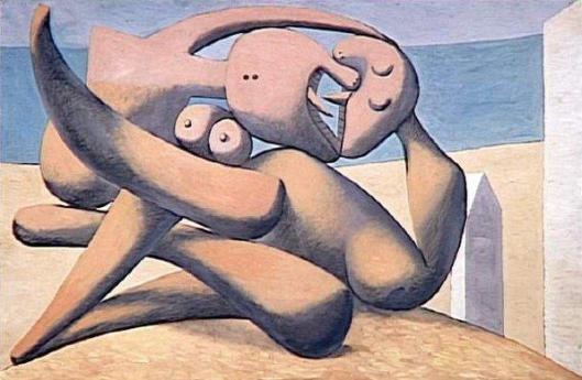 Picasso_Pablo-Figures_on_a_Beach