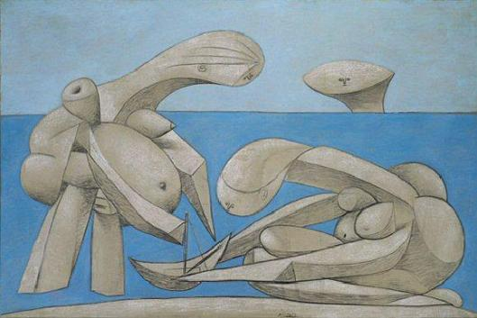 Picasso_Pablo-On_the_Beach