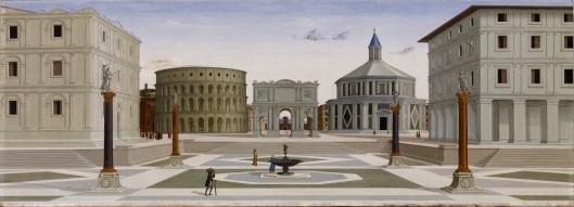 A cidade ideal - possivelmente de Fra Carnevale (1425–1484)
