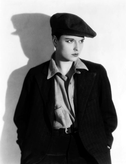 Louise Brooks in  (Photo by Otto Dyer)