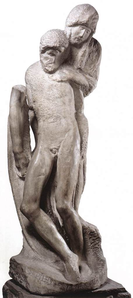 Michelangelo-Pietà Rondanini inacabada
