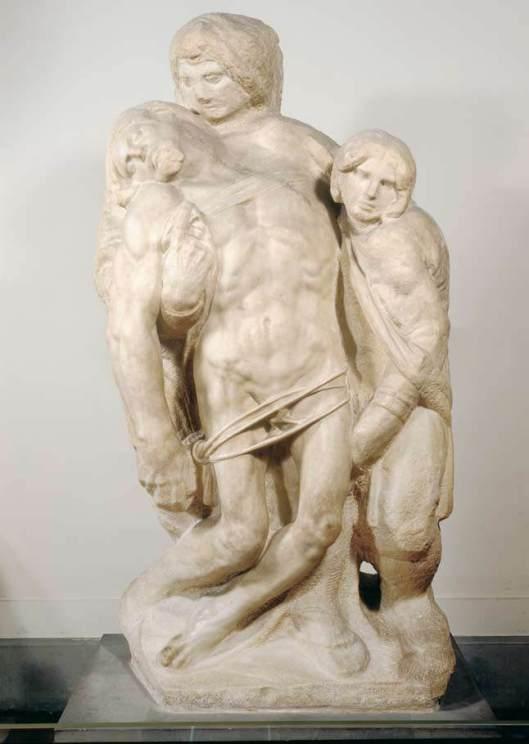 Michelangelo-Pietá Galeria dell'Academia