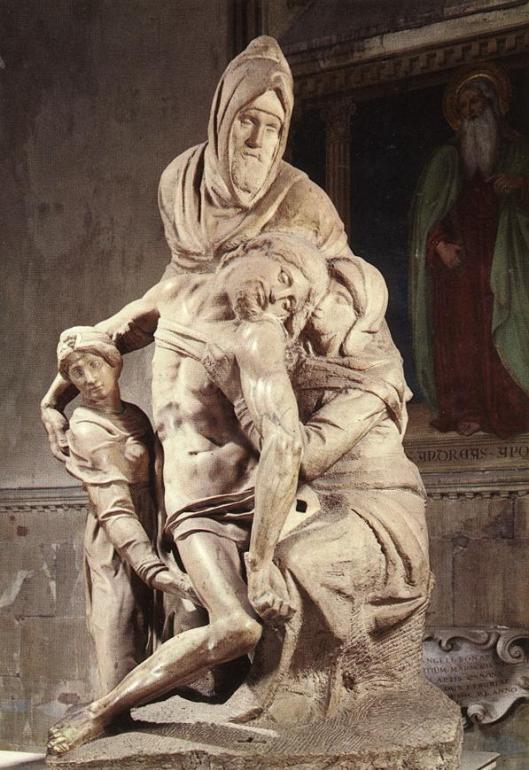 Michelangelo-Pietá Museo dell'Opera del Duomo, Florence