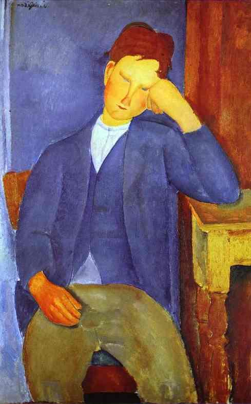 Modigliani_Amedeo-The_Young_Apprentice