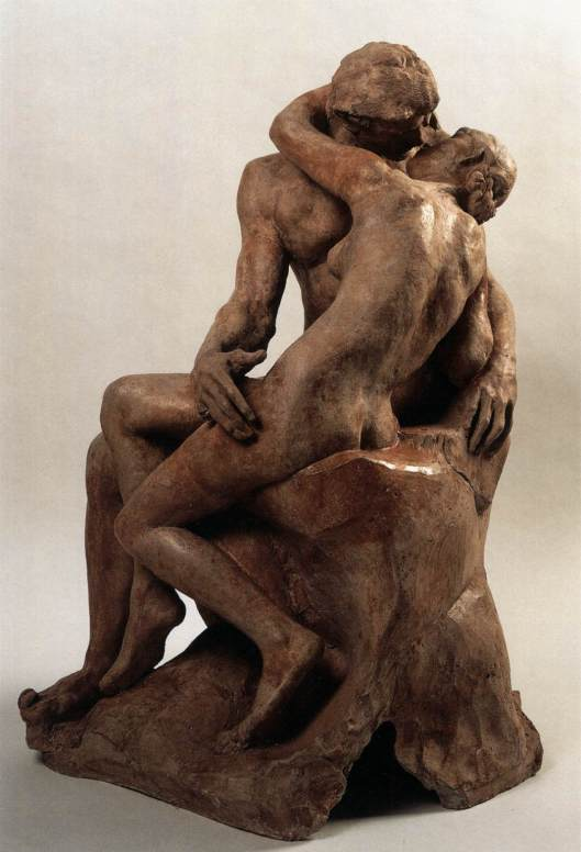 Rodin - O beijo - terracota