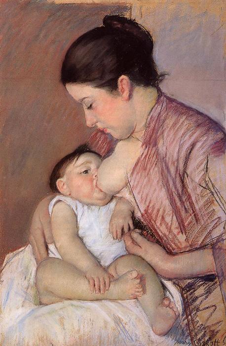 Mary Cassatt maternidade 1890