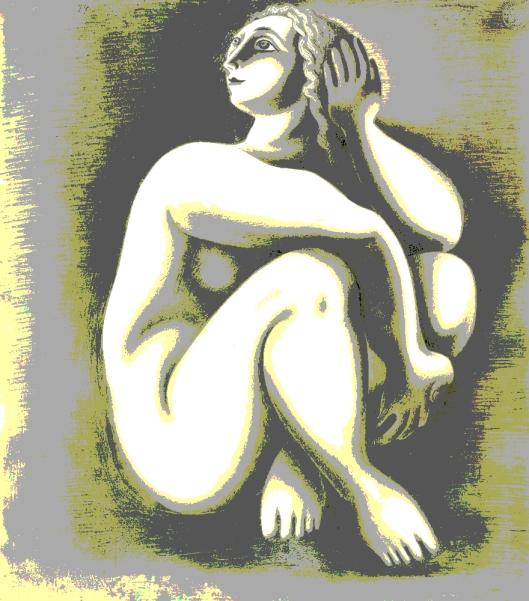 Mulher sentada