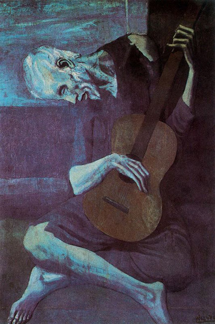 The Old Guitar Player - 1903-3
