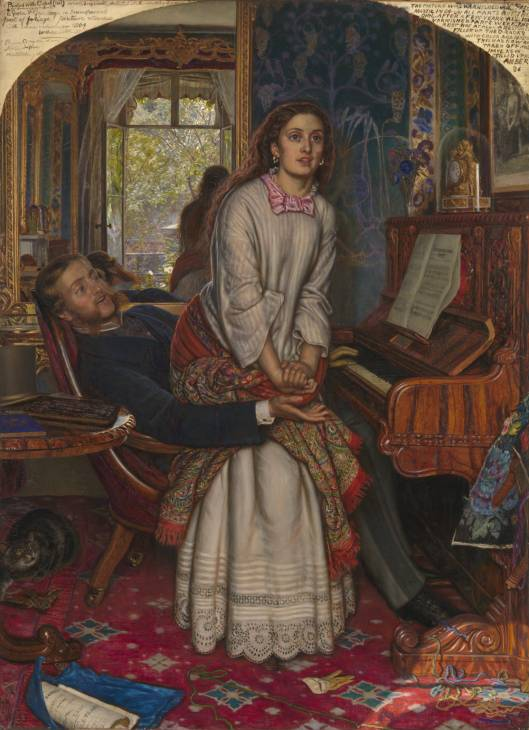 William Holman Hunt 1827-1910 - The awakening Conscience 1853 Tate