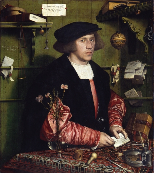 Holbein - O mercador Gisze - 1532
