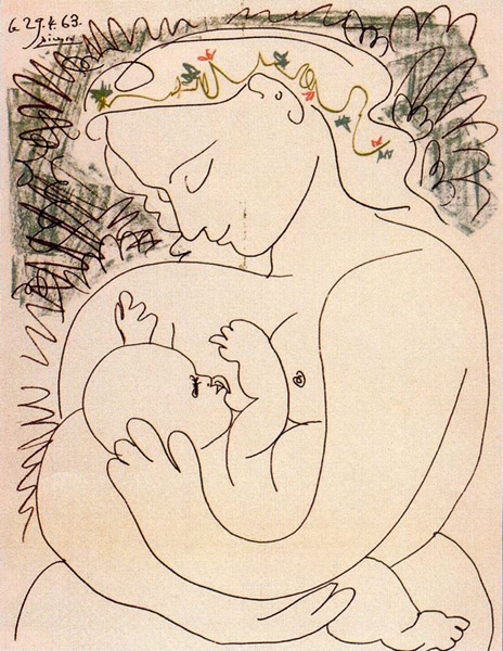 Mother and Child - 1963-34