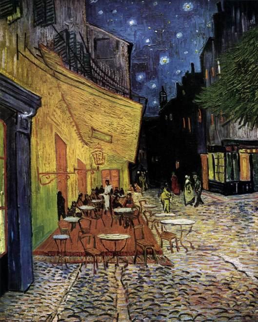 Van Gogh - Esplanada em Arles