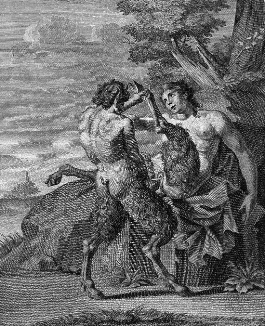 O Sátiro e a mulher