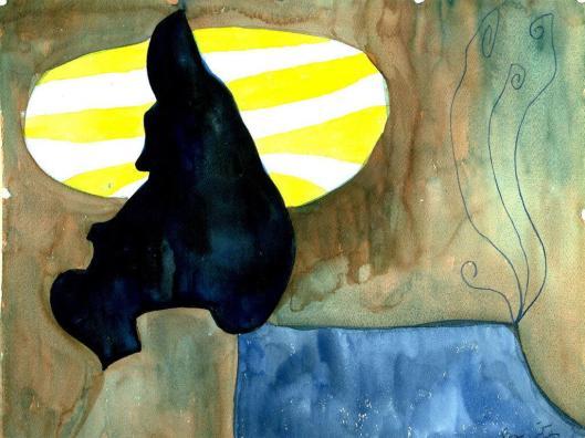 Baziotes, William-Watercolor 1 - 19581