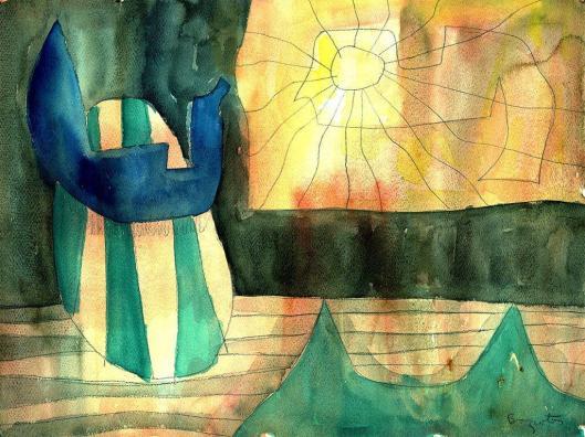 Baziotes, William-Watercolor 3 1958