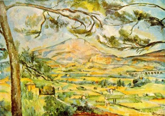 Cezanne - La Montagne Sainte-Victoire  1885 1887