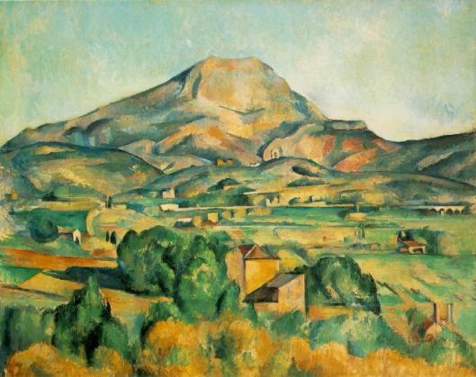 Cezanne - La Montagne Sainte-Victoire  1885-1895