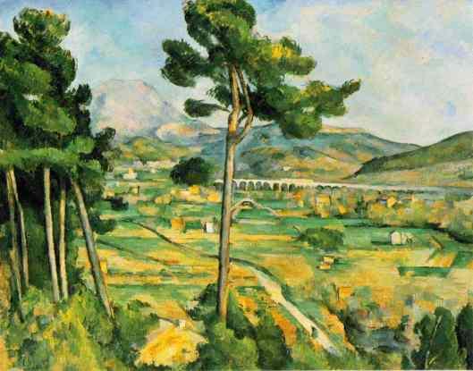 Cezanne - La Montagne Sainte-Victoire  1886-87