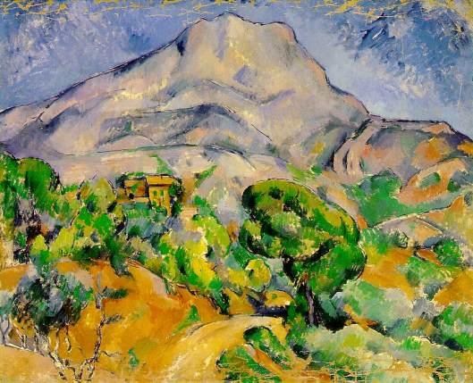 Cezanne - La Montagne Sainte-Victoire  1900