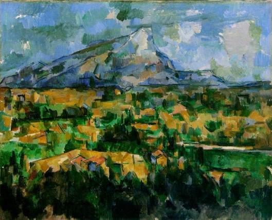 Cezanne - La Montagne Sainte-Victoire  1902 04