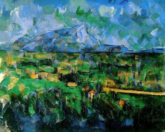 Cezanne - La Montagne Sainte-Victoire  1902 06