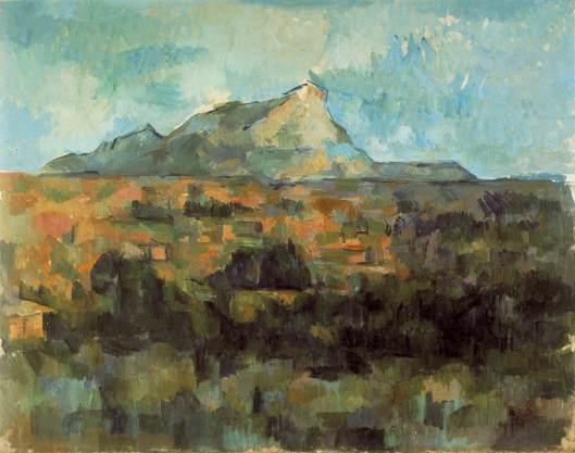 Cezanne - La Montagne Sainte-Victoire  1902-06