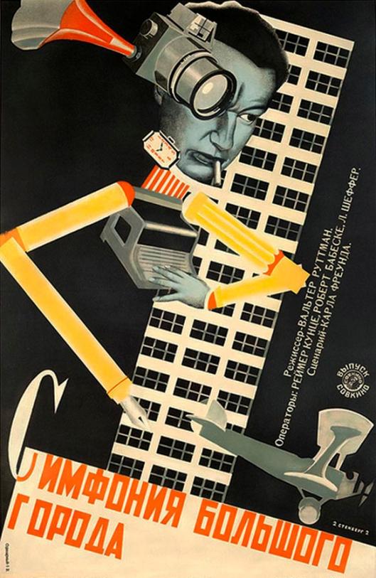 Poster Design by Vladimir and Georgii Stenberg 24