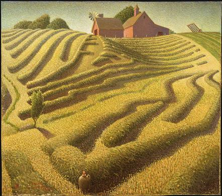 Wood, Grant-Haying 1939