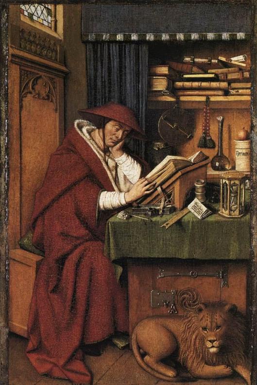 Eyck_Jan_van-St_Jerome