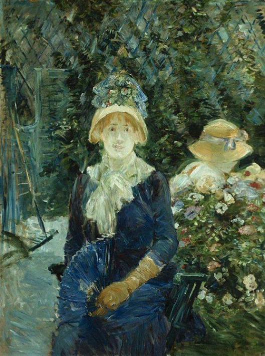 Morisot_Berthe-Woman_in_a_Garden