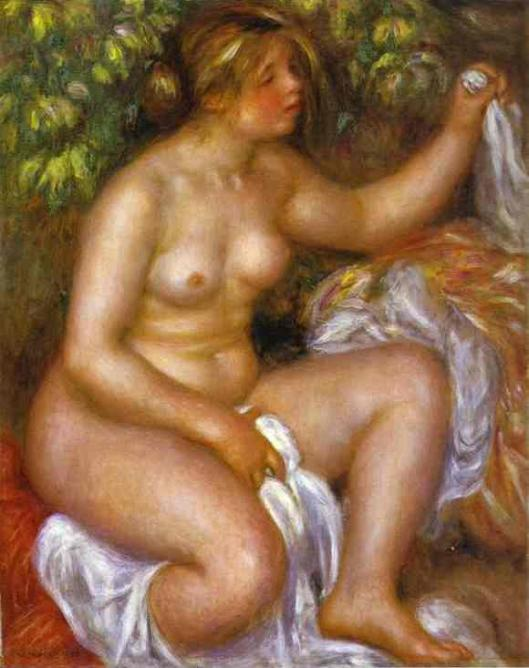 Renoir_Pierre-Auguste-After_the_Bath-1910-II