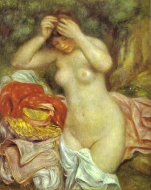 Renoir_Pierre-Auguste-Bather_Arranging_Her_Hair