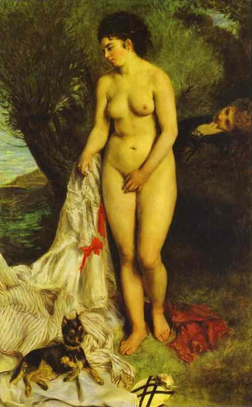 Renoir_Pierre-Auguste-La_Baigneuse_au_Griffon_Bather