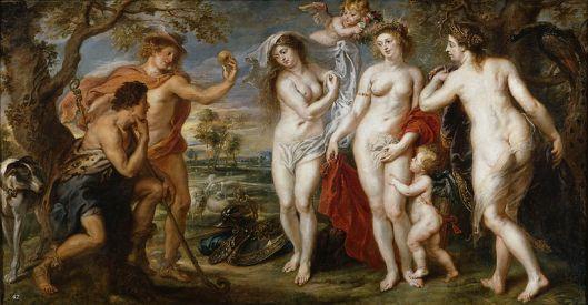 00 Peter Paul Rubens - O Julgamento de Páris - 1639