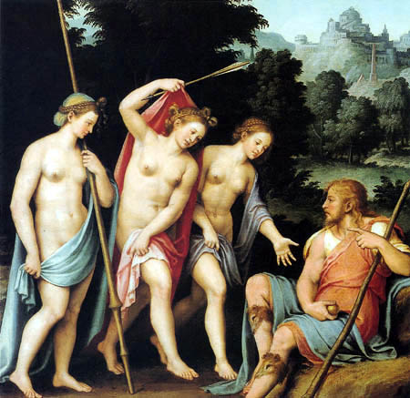 6 Joan de Joanes - O Julgamento de Páris - 1523-1579