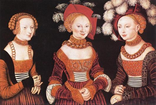 Cranach_the_Elder_Lucas-Saxon_Princesses_Sibylla_Emilia_and_Sidonia 1530-35